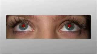 Почему глаза на фотографиях - красные???