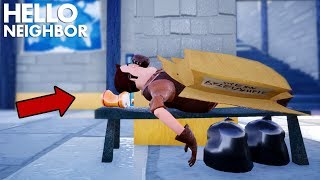 The Neighbor TRAVELS TO A NEW TOWN!?!?! | Hello Neighbor (Mods)