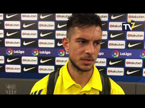 Marcos Mauro tras Barça B - Cádiz (20-05-18)