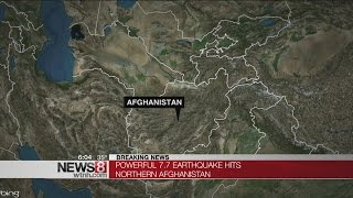 Strong earthquake in Afghanistan shakes region