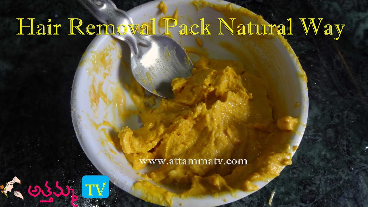 Face pack for unwanted hair-2774