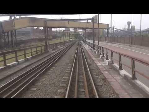 Ligne Metro M1 - Charleroi Sud -  Anderlues monument