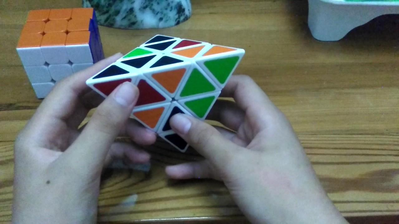 Hướng dẫn xoay rubik tam giác,max dễ #1
