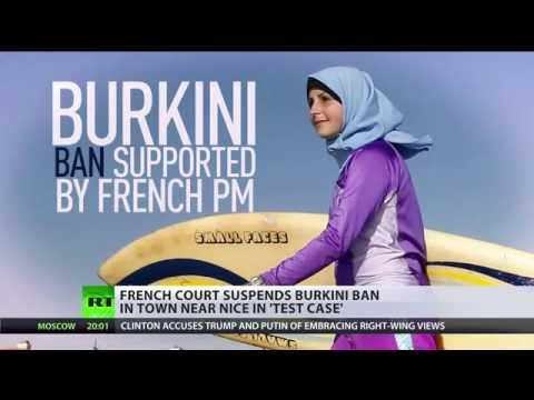 France's highest court overturns burkini ban in town near Nice