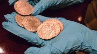 American salvage company returns Spanish treasure