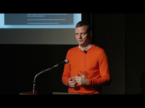 Christopher Ahlberg, Recorded Future, at Big Data Analytics Tokyo 2017