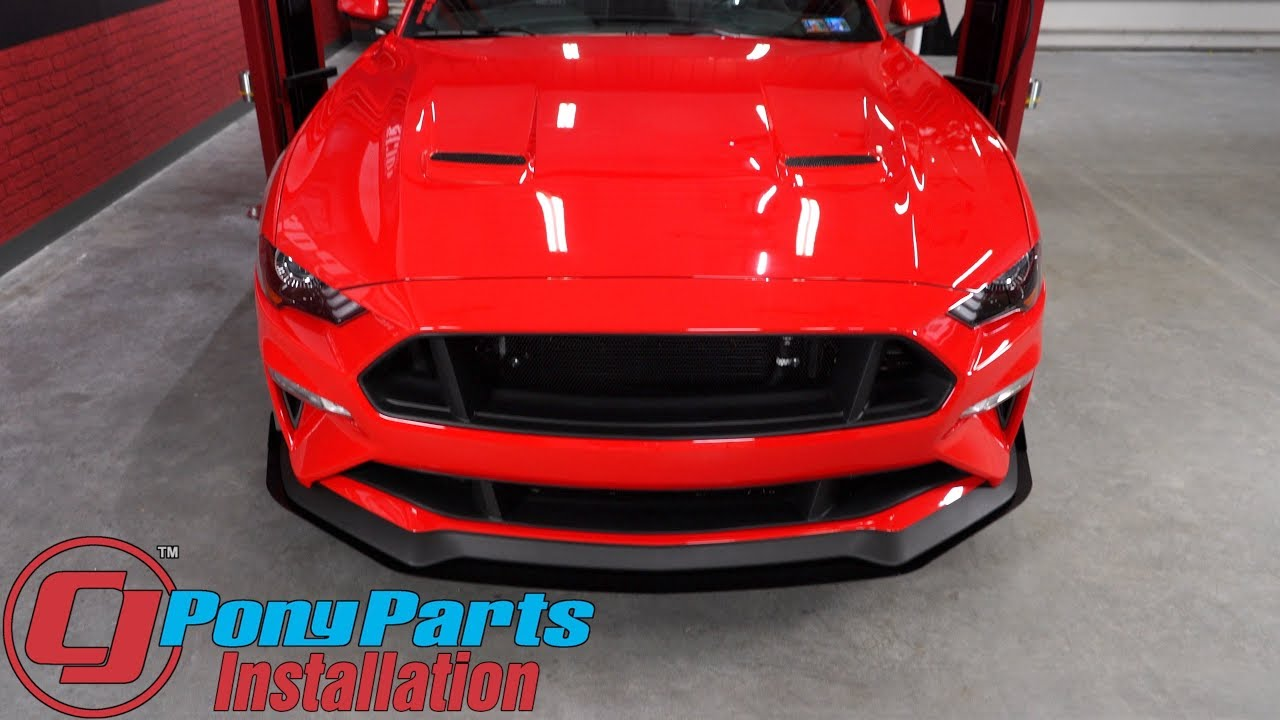 2018-2019 Mustang Install: Rally Innovations Rally 1 Front ...