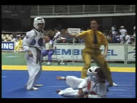 Подборка жестких ударов в карате и тхэквондо