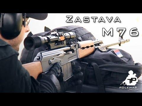 Zastava M76 Sniper Rifle | Gun Porn from YouTube · Duration:  3 minutes 58 seconds