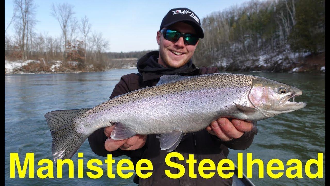 Manistee River Steelhead Fishing