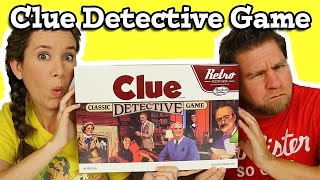 Clue Game Retro Classic Detective Game