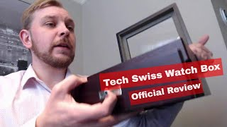 2018 Official Guy Reviews! -Tech Swiss Watch Box Holds 20 (Amazon Prime)