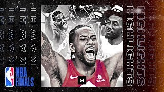 Kawhi Leonard BEST Plays From 2019 NBA Finals   KING OF THE NORTH