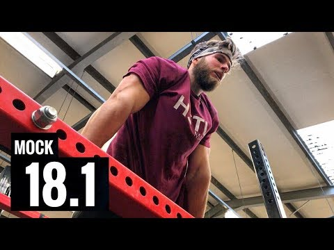 THE FIRST OPEN WORKOUT IS...  (18.1 Mock with Crossfit Games Athletes)