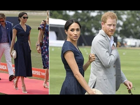 Meghan Markle news | Meghan cheers on Prince Harry in the Sentebale Polo Cup