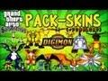 Digimon Pack Skins