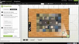 Autodesk Homestyler Snapshot and 360 Panorama Tutorial