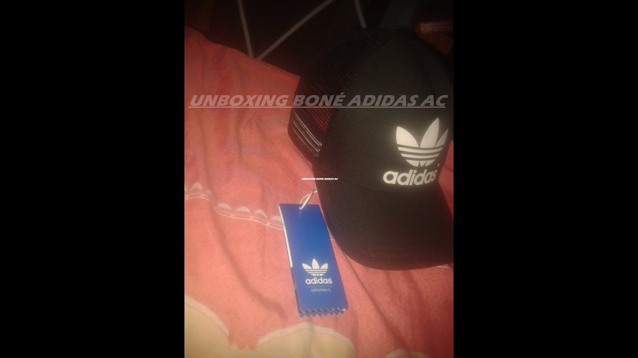 d4cd5bfa13aa6 UNBOXING BONÉ ADIDAS AC TRUCKER (ORIGINALS) - YouTube