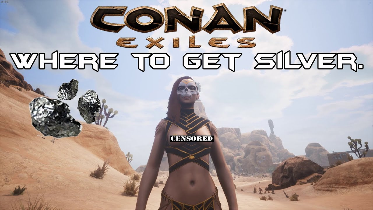 Conan Exiles: Where to Get silver, a quick look at Derketo Acolyte Armor  (Female)