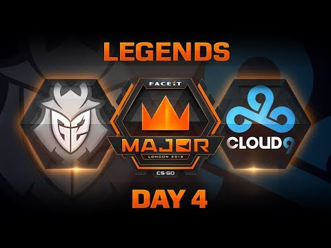 G2 vs Cloud9 - Inferno (FACEIT Major: London 2018)