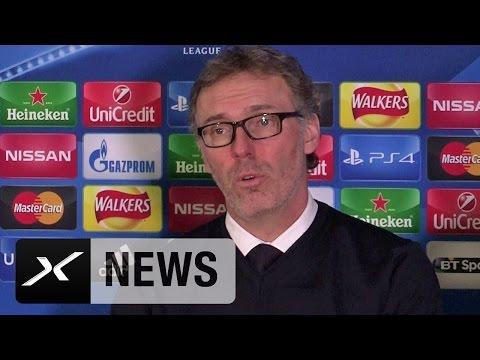 Laurent Blanc: Zlatan Ibrahimovic hat Klasse bewiesen | FC Chelsea - Paris Saint-Germain 1:2