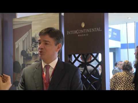 ATM 2016: Manrique Rodríguez, general manager, InterContinental Madrid (Spanish)