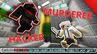 HACKING IN MURDER MYSTERY (Minecraft Murder Mystery)