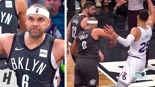 Jared Dudley Hits a Three & Calls Out Ben Simmons! Gets Personal | April 20, 2019 Playoffs