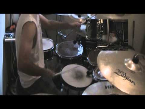 Avenged Sevenfold Unbound the Wild Ride (drum cover)