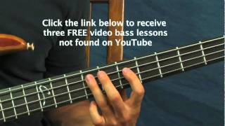 easy bass guitar lesson come as you are nirvana