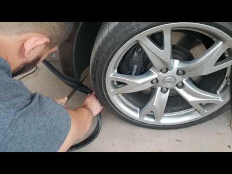 Nissan 370Z - EZ Lip Installation