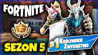FIRST WIN IN SEASON 5! * NEW SKINS AND MAP *! | FORTNITE (PL/HD)