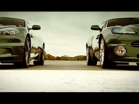 Aston Martin: DBS vs DB9 and Vanquish (HQ) - Top Gear - Series 10 - BBC