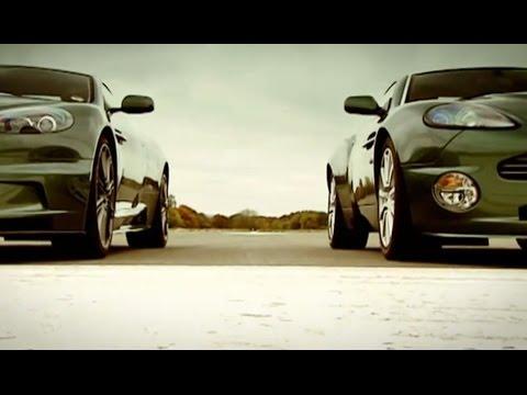 Aston Martin: DBS vs DB9 and Vanquish   Top Gear