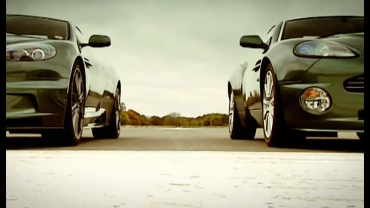 Aston Martin: DBS vs DB9 and Vanquish | Top Gear - YouTube