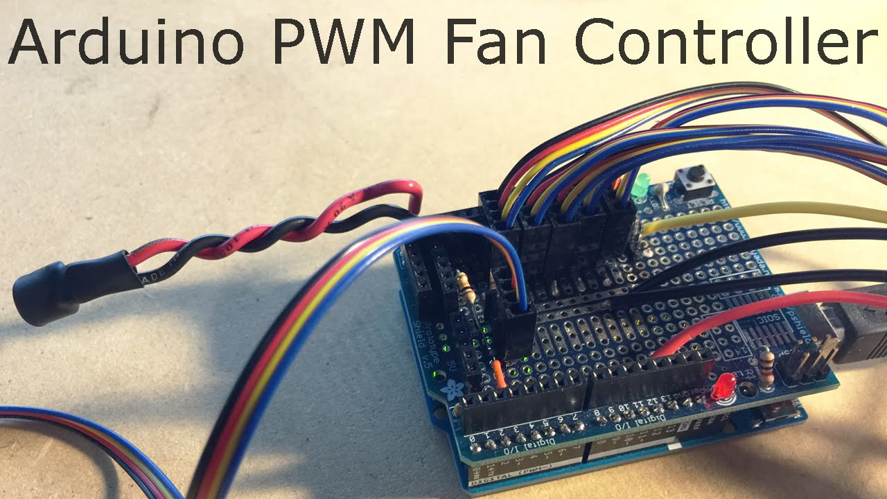 DIY Arduino PWM PC Fan Controller (Part 1) [Prototype