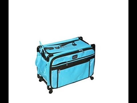 Turquoise Tutto Collapsible 17 Carry on Luggage