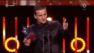 Wilfred Genee wint de Zilveren Televizier-Ster Presentator | Gouden Televizier-Ring Gala 2017