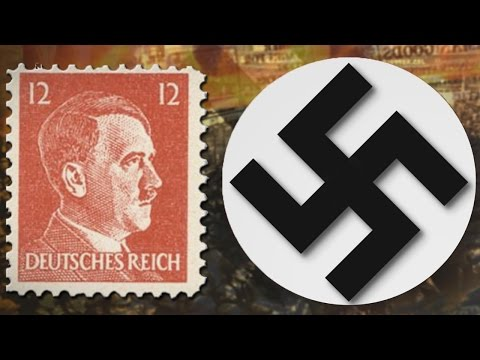 Leader of Germany - Hitler (2nd August, 1934) | Mintage World's Rusted Post Box