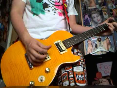 how to play the simpsons theme on guitar