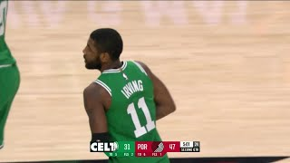 2nd Quarter, One Box Video: Portland Trail Blazers vs. Boston Celtics