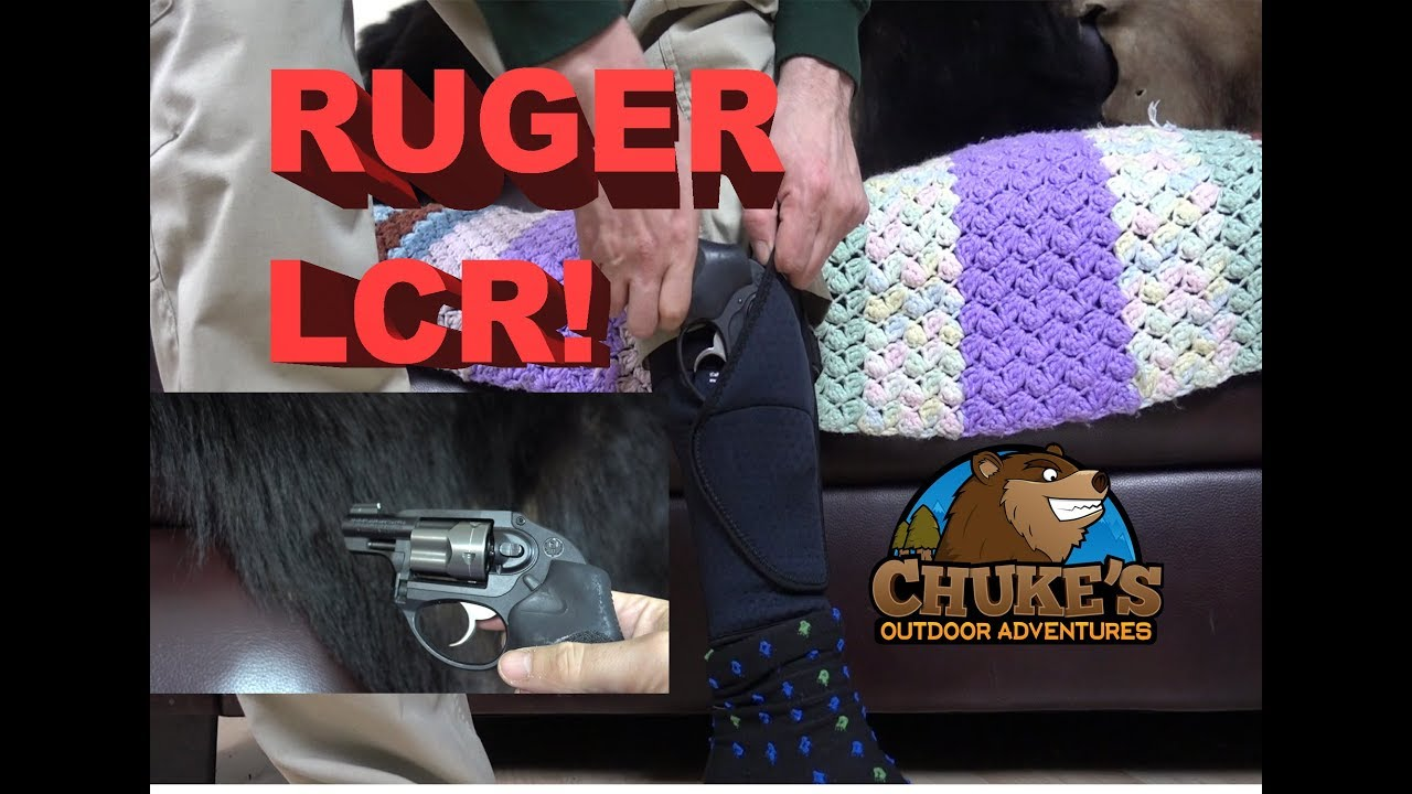 Ruger LCR Backup Ankle Carry