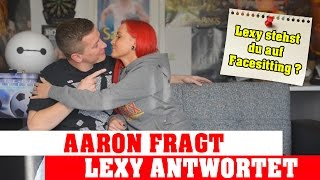 Repeat youtube video Facesitting, Deepthroat und Double Penetration - Aaron fragt und Lexy antwortet