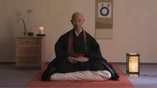 Введение в практику дзадзен, урок медитации