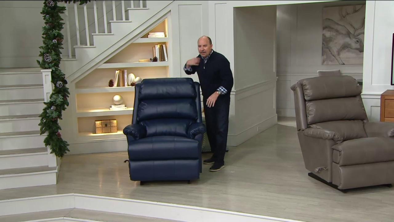 La z boy recliners buy one get one - La Z Boy Astor Rocka Recliner With Memory Foam On Qvc