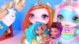 Барби открывает Мексиканский ресторан для Единорожек и Кукол из мультиков!