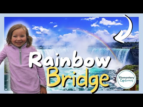Walking Over Rainbow Bridge To Canada - Niagara Falls, Ontario, Canada - Journey Behind The Falls