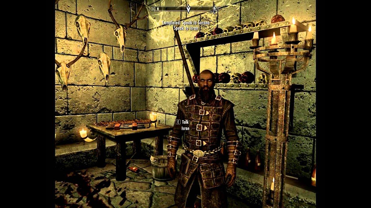 Skyrim Dawnguard Gameplay Part 13 - Lets Play (Vampire
