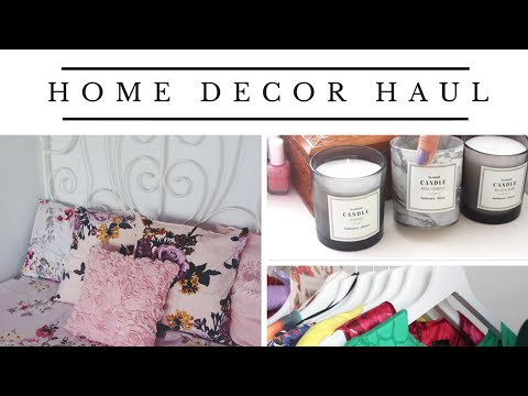 Haul Home Decor H M Home Zara Home Ikea Jumbo Youtube