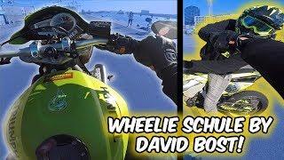 Wheelies lernen mit David Bost!